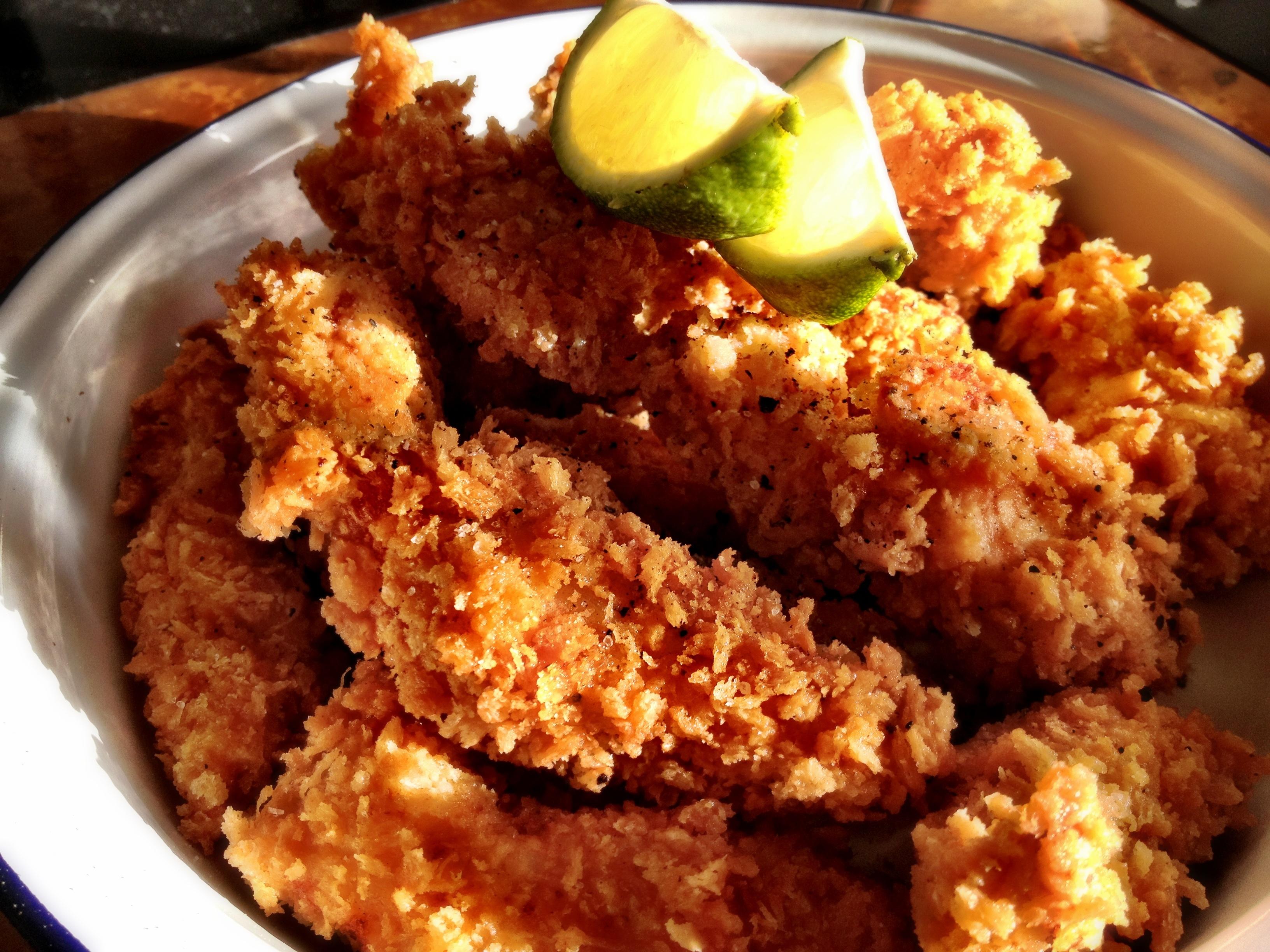 Panko crumb chicken recipe